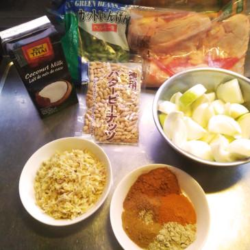 芋問題の解法 擬似マッサマンカレー